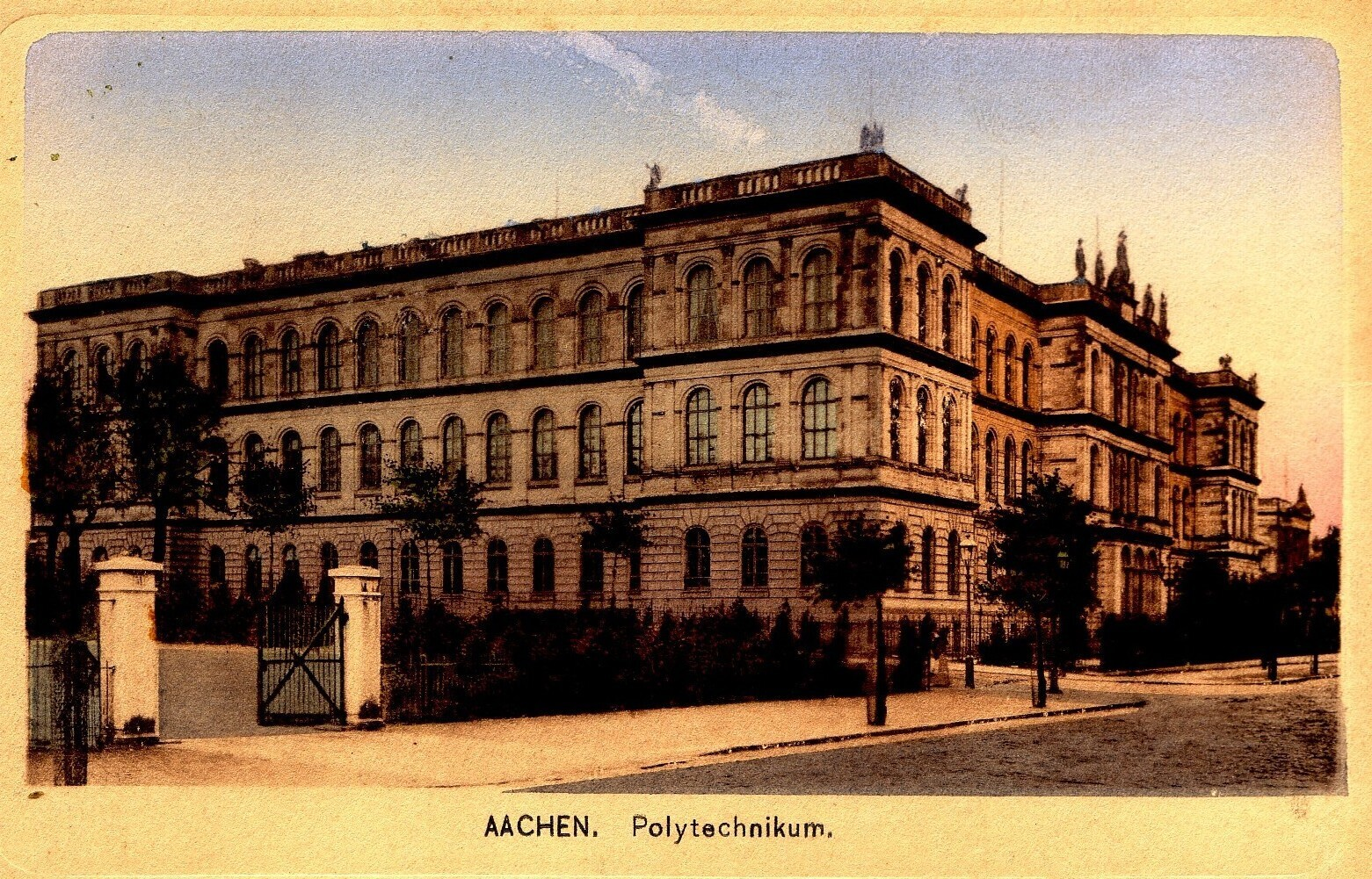 Historical photo of RWTH Main Building