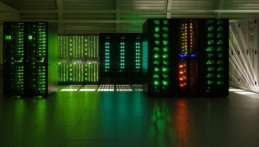 Supercomputer in a dark room